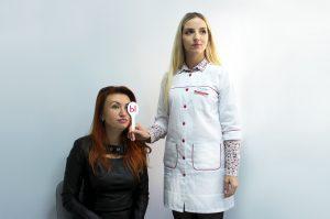проектор знаков проверка зрения