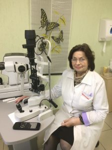 врач офтальмолог на проспекте